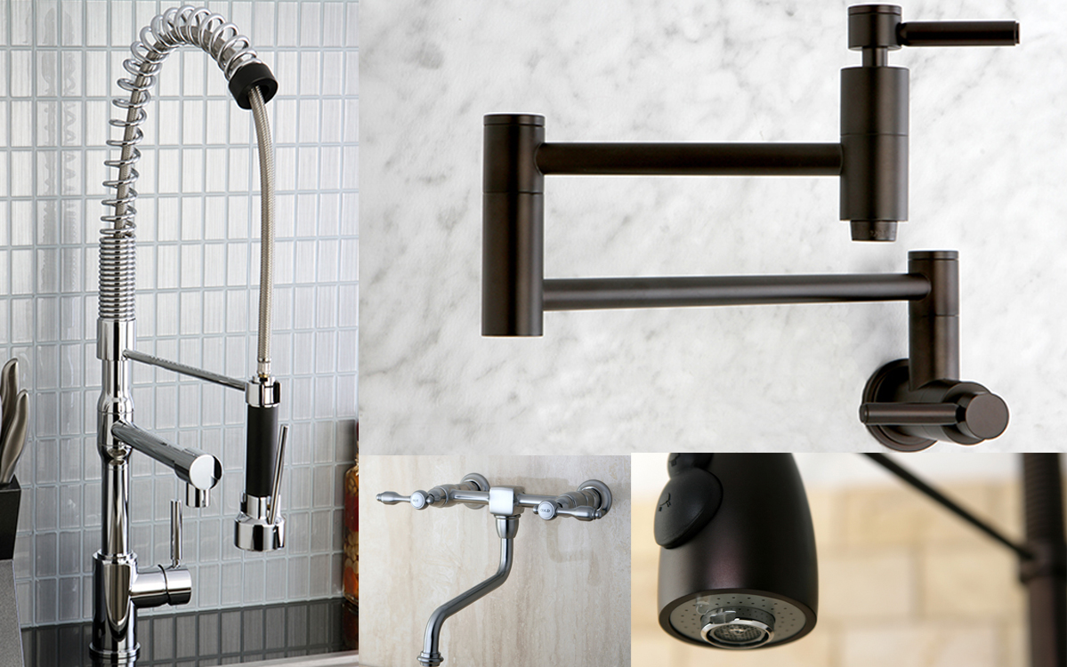 getting to know various types of kitchen faucets the 11 types of kitchen faucets all faucets world